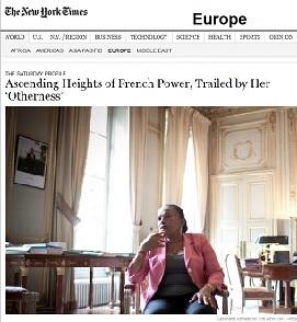 """TAUBIRA envoûte le """"New York Times"""" (Traduction intégrale de son panégyrique) Rev_125"""