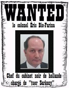 """Le Col Bio-Farina chargé par Hollande de """"tuer Sarkozy"""" réapparait dans le #BenallaGate Rev_128"""