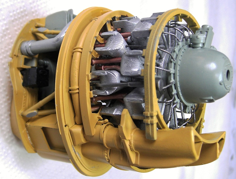 Republic P-47D Thunderbolt Bubbletop / Kinetic, 1:24 Pict5756