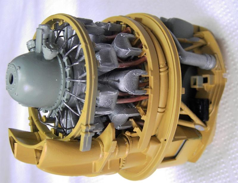 Republic P-47D Thunderbolt Bubbletop / Kinetic, 1:24 Pict5758