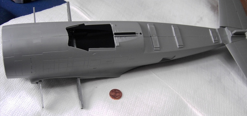 Republic P-47D Thunderbolt Bubbletop / Kinetic, 1:24 Pict5814