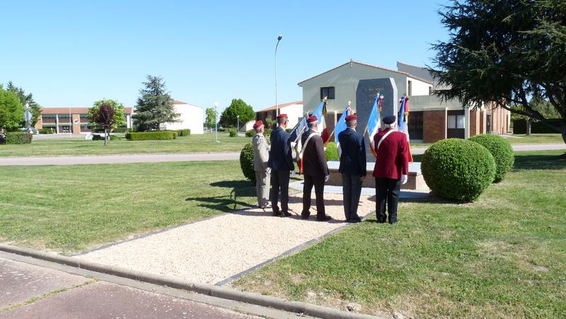 Les anciens du 9ème RCP ont commémoré la bataille de SOUK-AHRAS P1080713