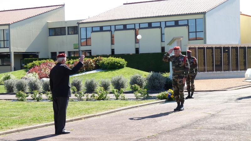 Les anciens du 9ème RCP ont commémoré la bataille de SOUK-AHRAS P1080714