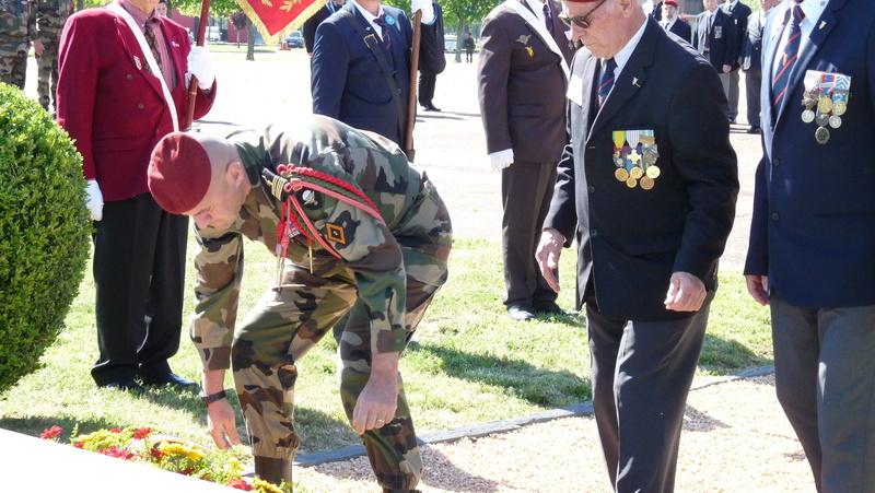 Les anciens du 9ème RCP ont commémoré la bataille de SOUK-AHRAS P1080719
