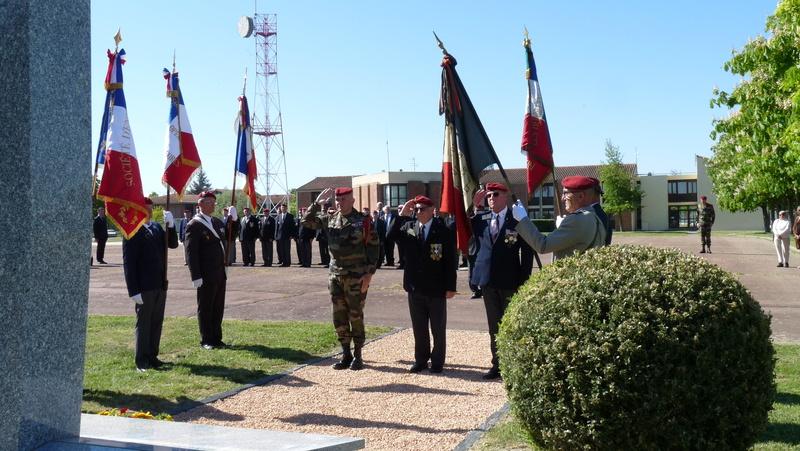 Les anciens du 9ème RCP ont commémoré la bataille de SOUK-AHRAS P1080720