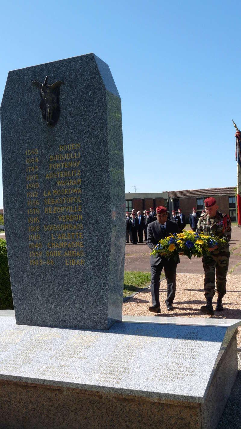 Les anciens du 9ème RCP ont commémoré la bataille de SOUK-AHRAS P1080721
