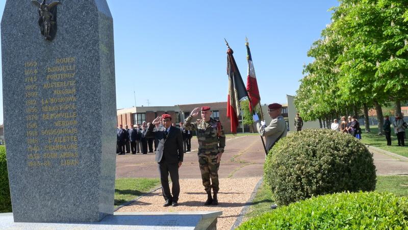 Les anciens du 9ème RCP ont commémoré la bataille de SOUK-AHRAS P1080723