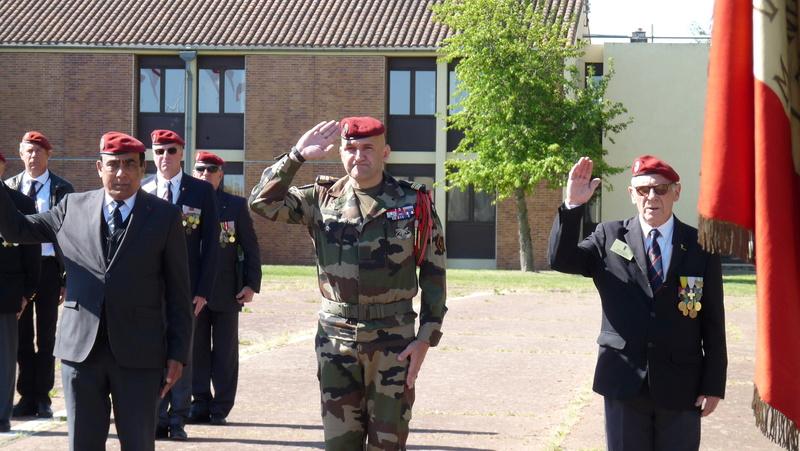 Les anciens du 9ème RCP ont commémoré la bataille de SOUK-AHRAS P1080724