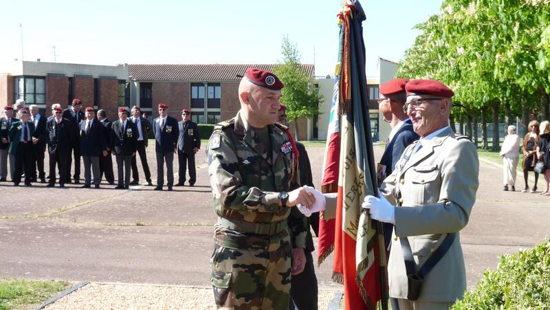 Les anciens du 9ème RCP ont commémoré la bataille de SOUK-AHRAS P1080725