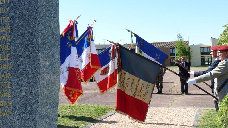 Les anciens du 9ème RCP ont commémoré la bataille de SOUK-AHRAS P1080726