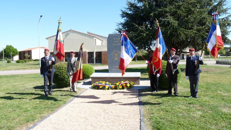 Les anciens du 9ème RCP ont commémoré la bataille de SOUK-AHRAS P1080727