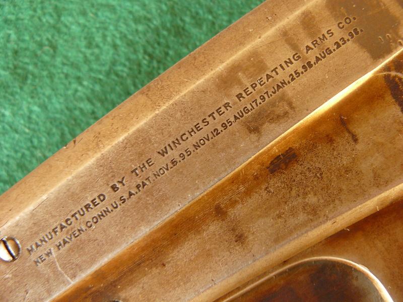 Deux exemplaires; 303 British et 405 Winchester [1895] 13winc10