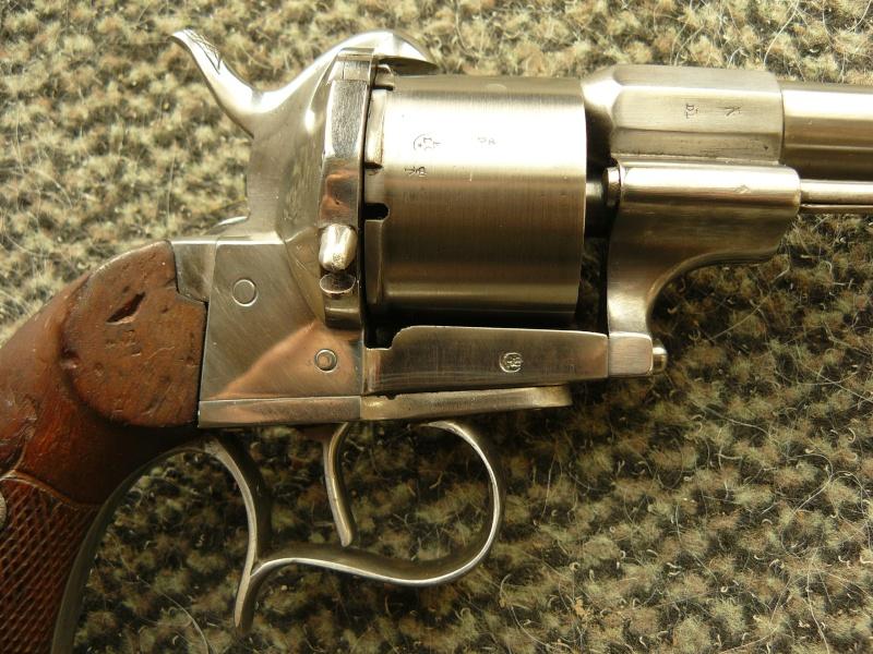 "Revolver type ""lefaucheux"" 12mm à broche Cnilic12"