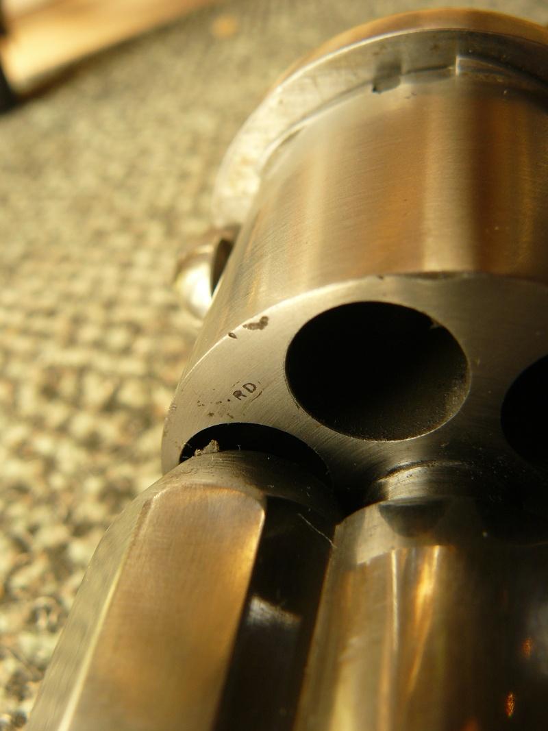 "Revolver type ""lefaucheux"" 12mm à broche Cnilic20"