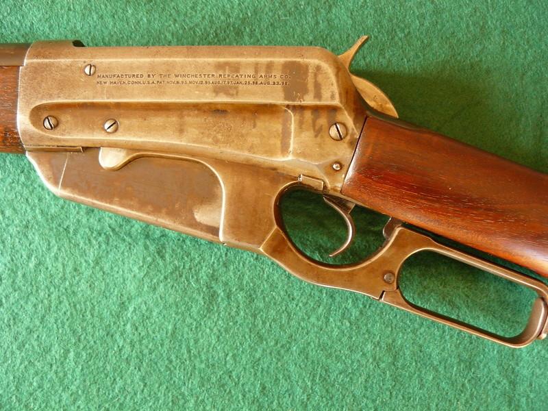 Deux exemplaires; 303 British et 405 Winchester [1895] Winche43