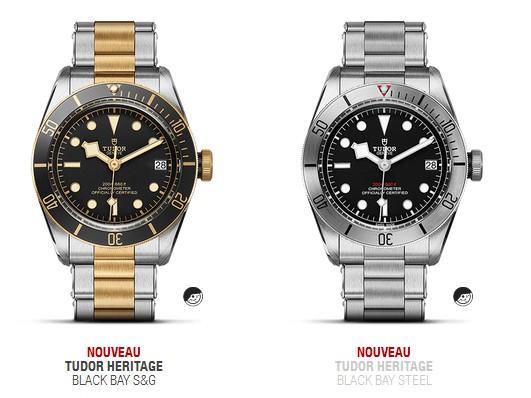 Quelques nouveautés 2017 (montres de plongée only) T10
