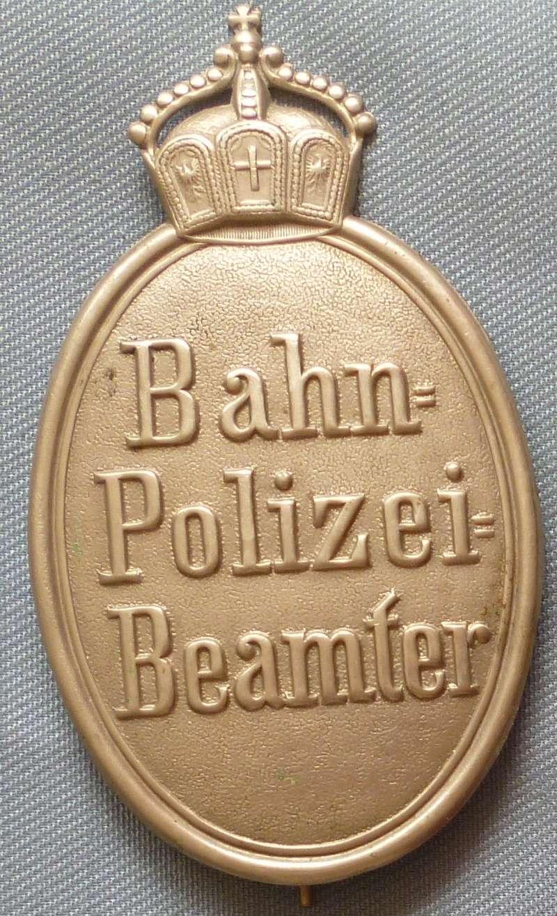 Badge police allemande début XX° Allpol10