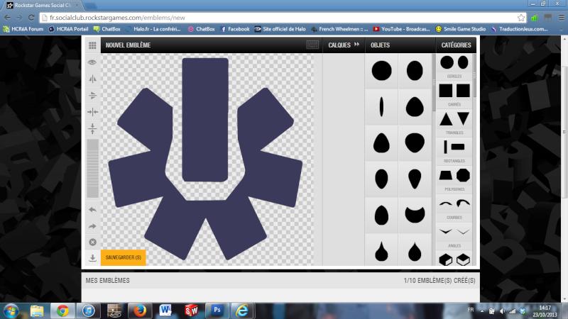 [ASTUCE] Importer une image pour emblème de Crew Tuto910