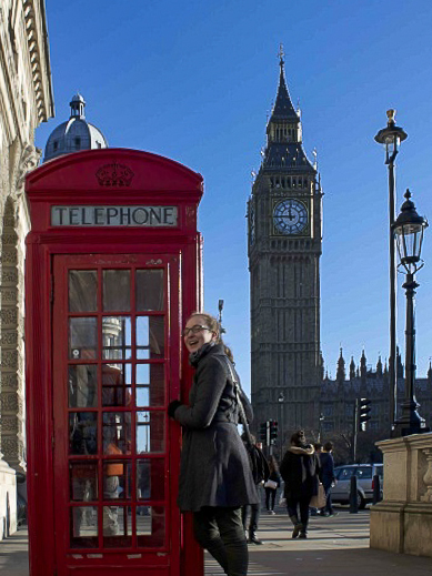 Big ben & Telephone booth Ej-20189