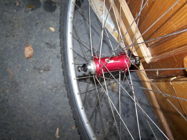 échange paire de roue Mavic 220 ub control BRUBZ 2 et LX 100_8826