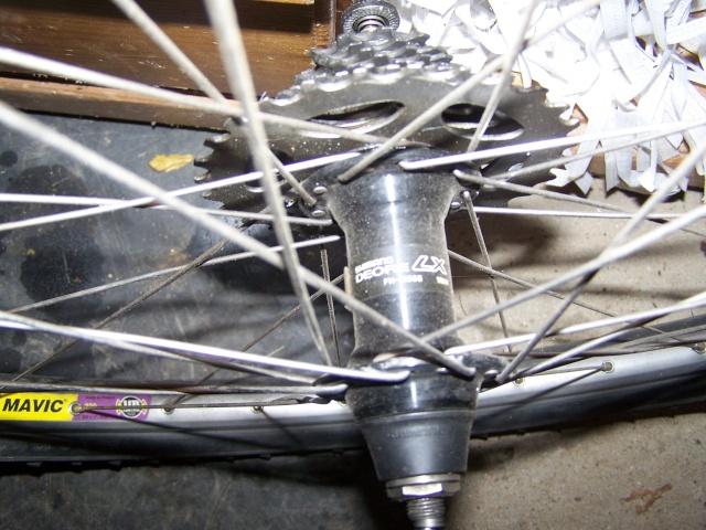 échange paire de roue Mavic 220 ub control BRUBZ 2 et LX 100_8827
