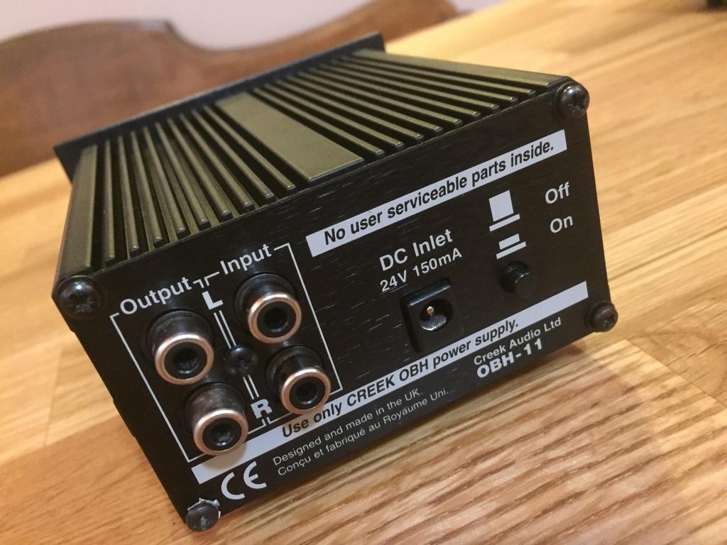 (PG) Creek Audio OBH-11 amplificatore cuffie Img_3826