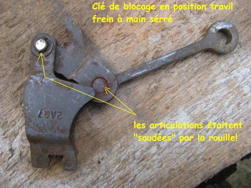 Frein à main - nettoyage mécanisme commande (avec demontage) Img_1520