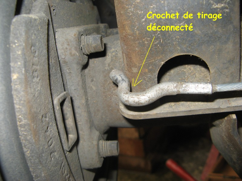 Frein à main - nettoyage mécanisme commande (avec demontage) Img_1522