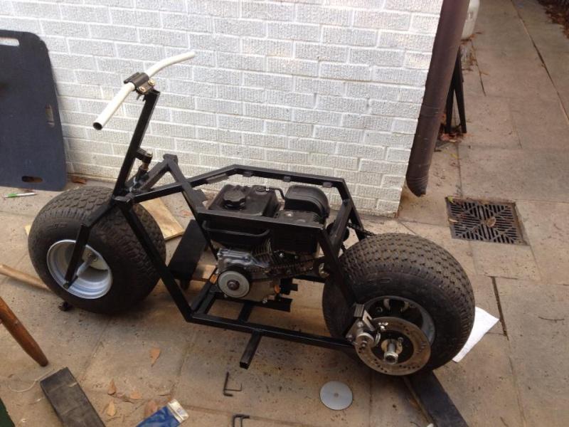 Fat tire minibike  16186710