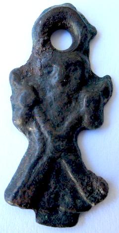 Medalla figurada de San Andrés de Teixido - s. XVI-XVII (R.M.PFV- Andrés 1) Andres12