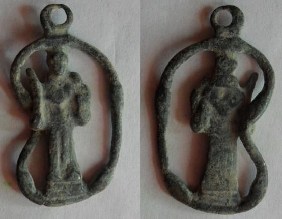 Medalla de San Antonio de Padúa, siglo XVIII Antoni12