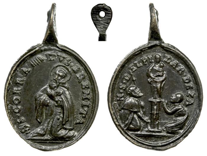 San Conrado Confalonieri / Virgen del Pilar (R.M. SXVIII-O340)(MAM) Conrra10