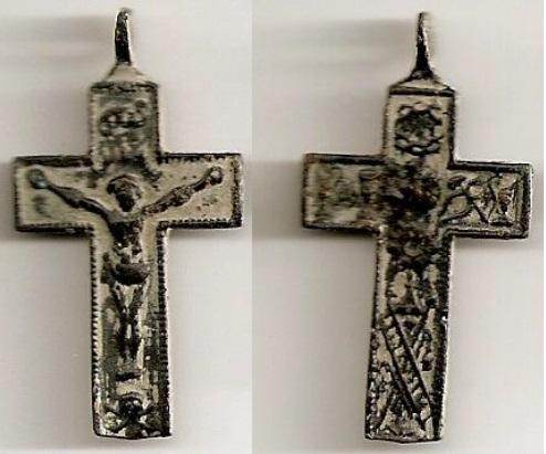crucifijo n 3 - Con Arma Cristi S. XVIII Crucif20
