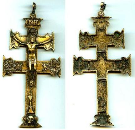 CRUZ DE CARAVACA (ff S-XVII -pp S-XVIII) Crucif29