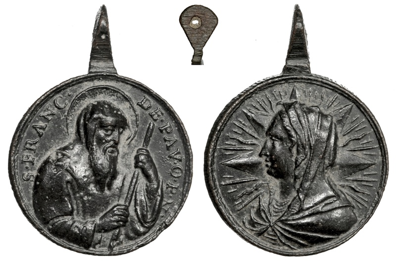 San Francisco de Paula / Virgen Mater Salvatoris (R.M. SXVIII-C128) Franci16