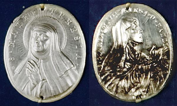 Santa Teresa de Jesús / Sta Maria Magdalena de Pazzi - Hamerani. S. XVII (R.M. SXVII-O421) Hamera10