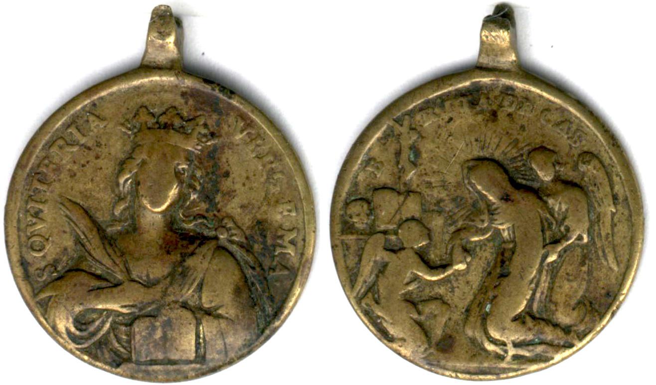 Santa Quiteria / Beata Rita de Casia  S. XVIII Quiter10