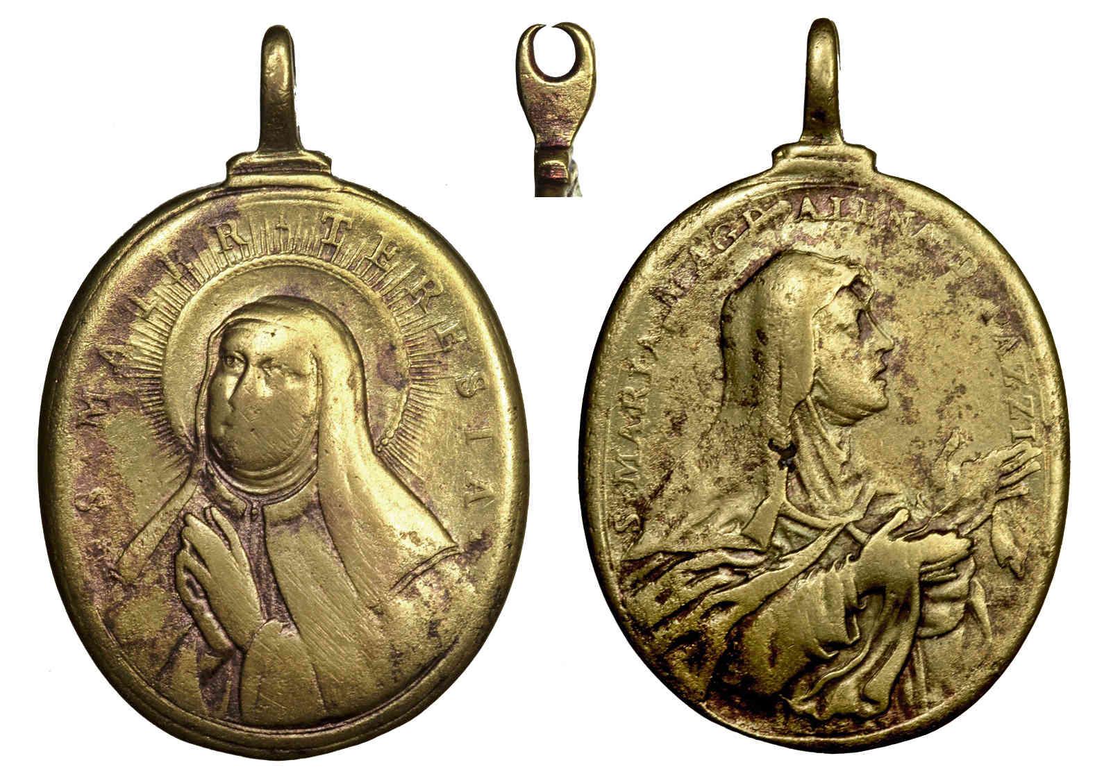 Santa Teresa de Jesús / Sta Maria Magdalena de Pazzi - Hamerani. S. XVII (R.M. SXVII-O421) Teresa10
