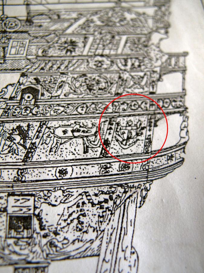 Le Soleil Royal im Maßstab 1:50 nach Plänen von Mantua gebaut von Peter Fischer - Seite 5 Img_9723