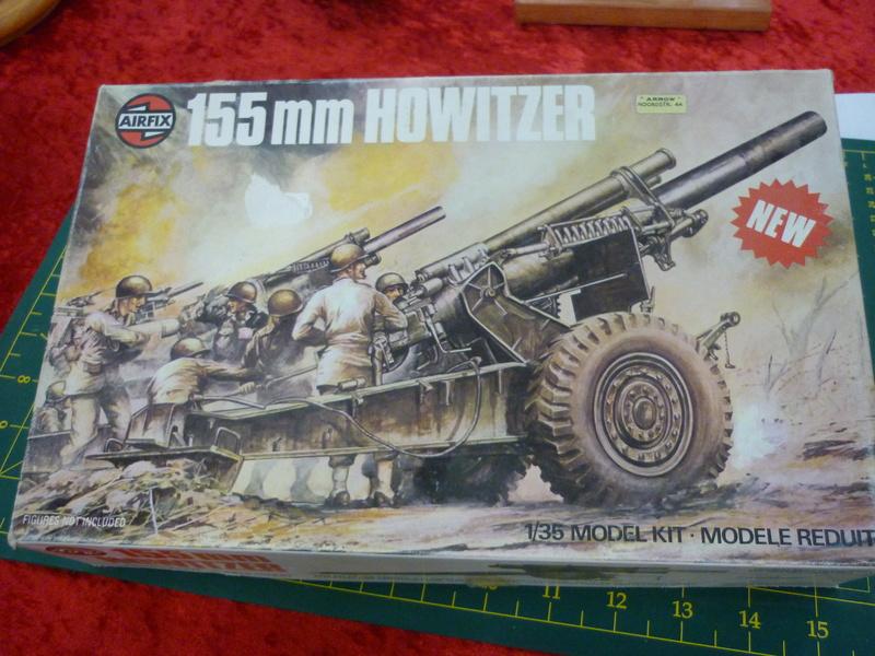 155mm Howitzer 1/35 Airfix P1080212
