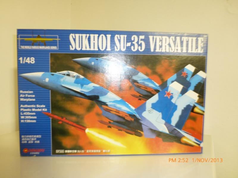 Vendo modellino aereo: SUKHOI SU-35 RUSSIAN AIR FORCE WARPLANE P1010115