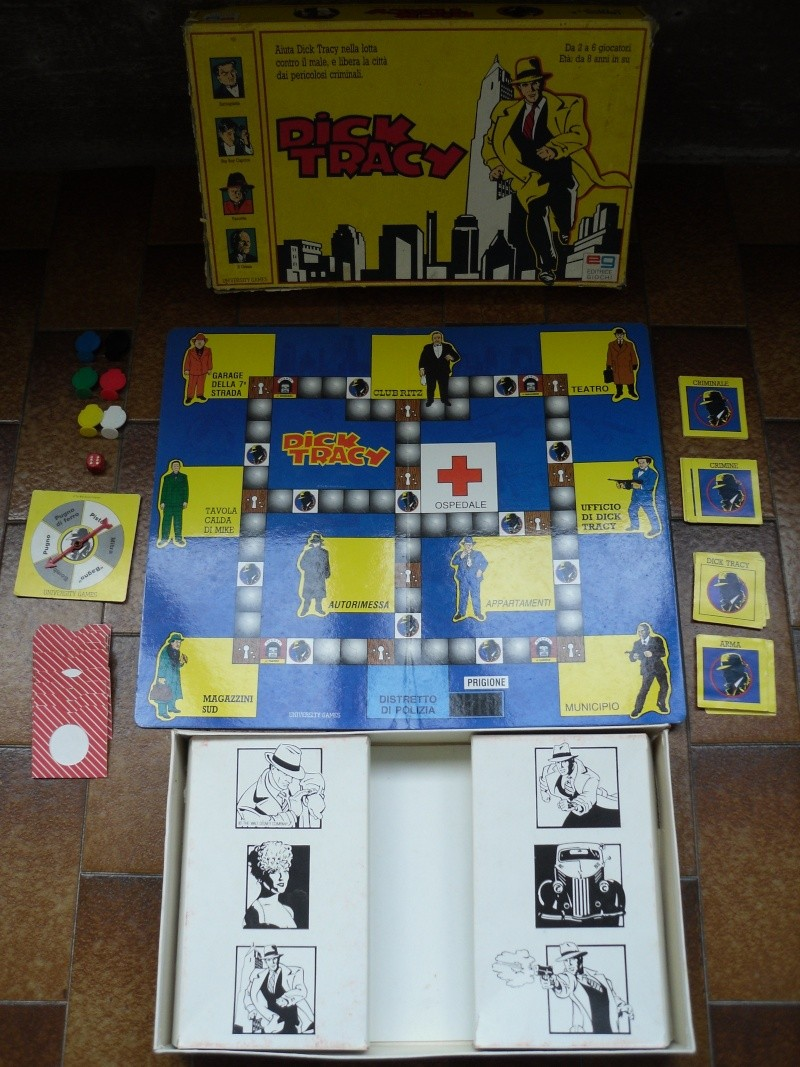 vendo Dick Tracy e Il tesoro del tempio Sam_3611