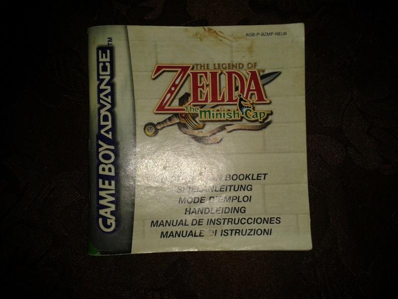 notice zelda minish cap pour GBA 2013-131