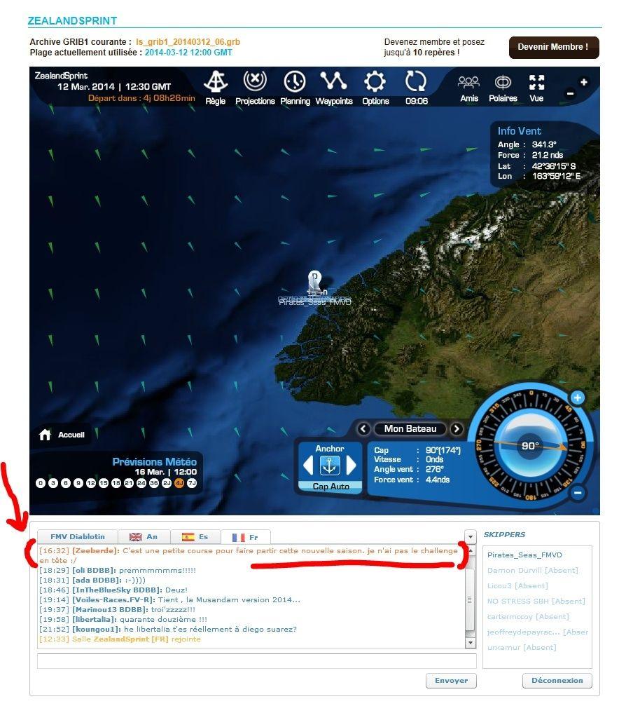 ZealandSprint (16 Mars, 21:00 GMT) Captur56