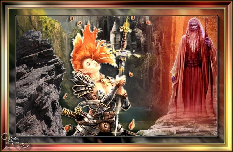 la guerrière  qui garde l'épée Excallibur  Excali11