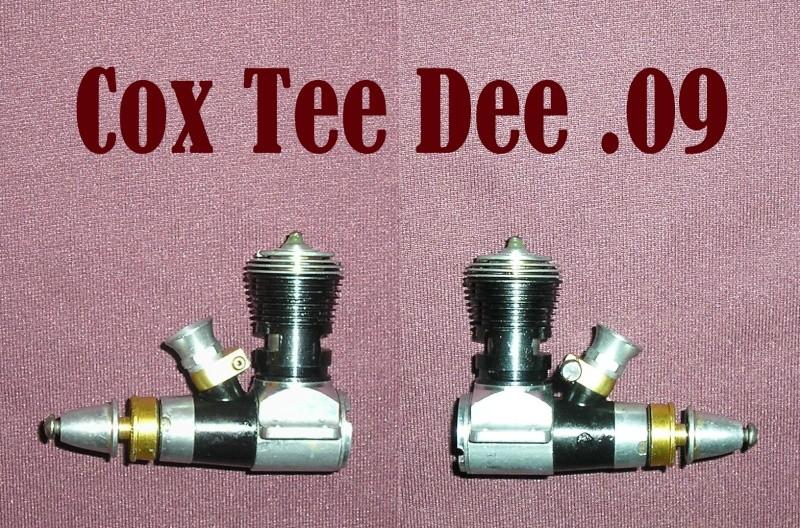 World Mini Model airplane engines 1,5 cc (.09 , .099 , .10 , .11) Teedee10