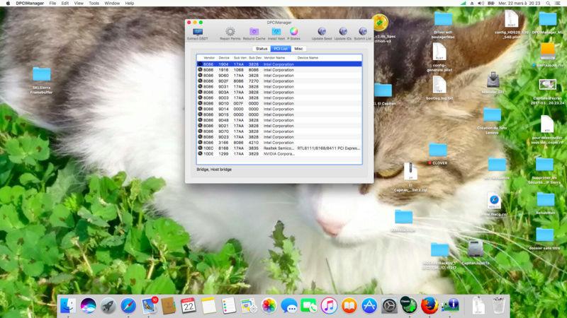 (Résolu)-mac os x sur Lenovo Yoga 500 i5 skylake Graphic Intel HD520 et nVidia 920M une mémoire samsung DDR3 8go - Page 5 Captur17