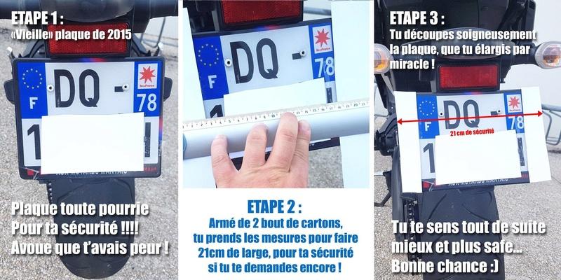 Sécurité routière : Plaque plus grande pour tous 19442110