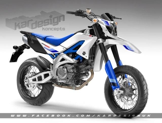 Algo essaie la Suzuki DR 400 ZS 48187010