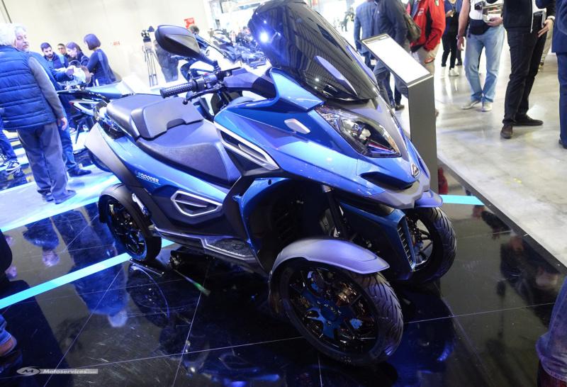 Lancement d'un scooter électrique à quatre roues : le eQooder 6-e-qo10